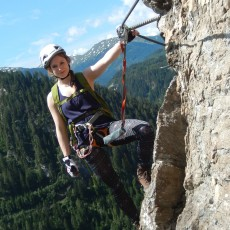 Ferrata Stafflacher Wand, Mountaineering Village St. Jodok