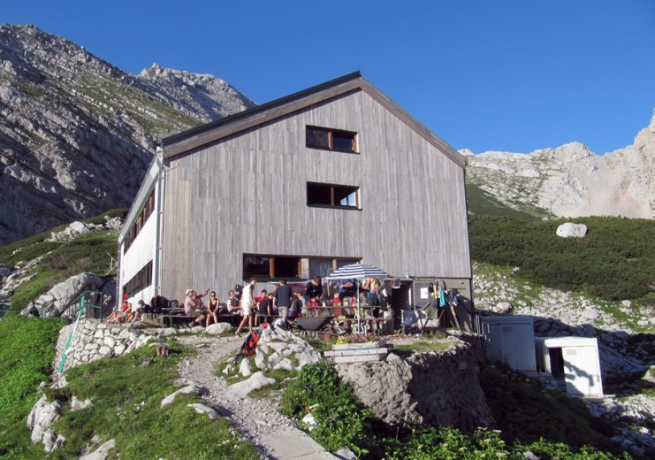The bothy Welser Hütte