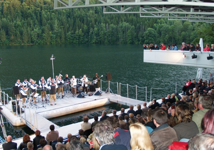 Concert on the so-called Seebühne